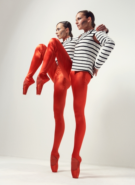 Oxana Panchenko and Clair Thomas by Jake Walters