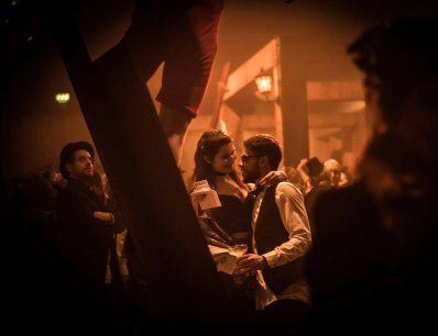 Images from @secretcinema